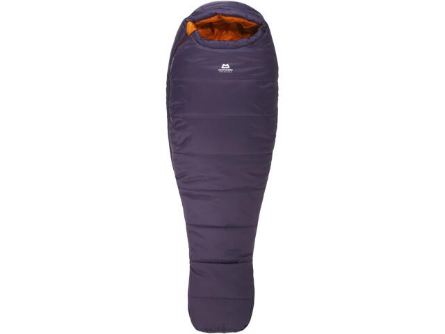 Mountain Equipment Starlight III Sleeping Bag Regular Dame aubergine/blaze